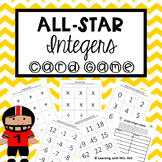 Integers Game Add, Subtract, Multiply, Divide Positive and Negative Numbers