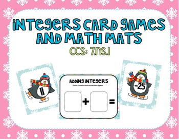 Integers Math Mats