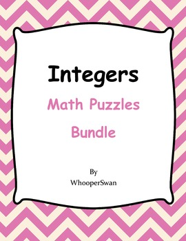 Integers Puzzles Bundle