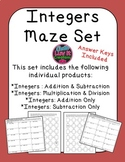 Integer Operations Adding and Subtracting Integers Multipl