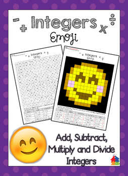 Integers [Mixed Review: Add, Subtract, Multiply and Divide]