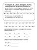 Integers Notes & Practice