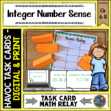 Integers Number Sense Havoc Relay