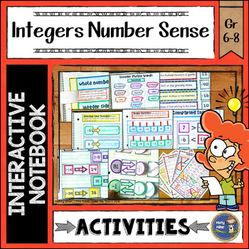 Integers Number Sense Interactive Notebook