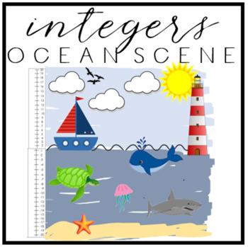 Integers Ocean Scene - Hands on Learning!