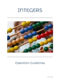 Integers: Operation Guidelines