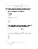 Integers Operations Quiz