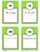 INTEGERS & ORDER OF OPERATIONS - SCAVENGER HUNT! (TASK CARDS)