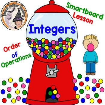 Integers Order of Operations Smartboard Lesson PEMDAS