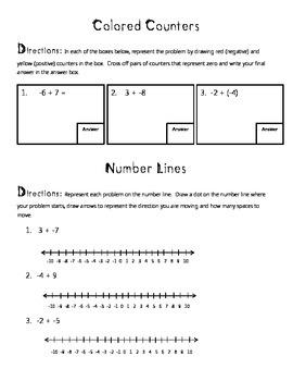 Integers Practice
