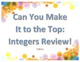 Integers Review: Can You Make It to the Top