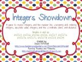 Integers Showdown Game