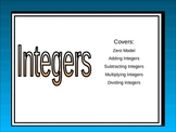 Integers Slide Show