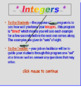 Integers TIMED PowerPoint Lesson (80 Slides)