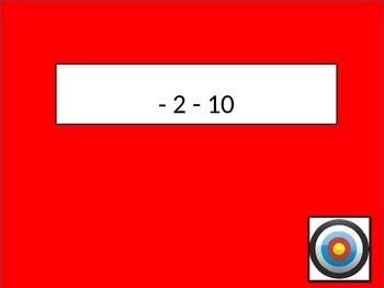 Integers - Target Game