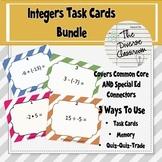 Integers Task Card Bundle