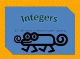 Integers Task Cards 6.NS.C.7