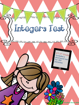 Integers Test