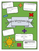Integers Worksheet Bundle