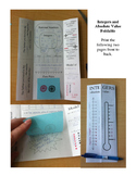 Integers and Absolute Value Foldable