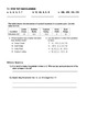 Integers and Absolute Value Packet