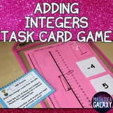 Adding Integers with Additive Inverse Task Cards Game