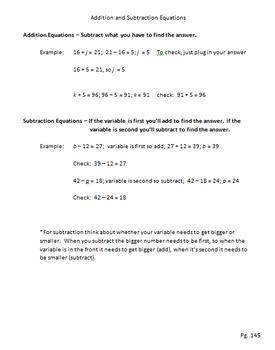 Integers and Algebraic Equations