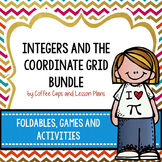 Integers and Coordinate Grid Bundle