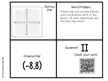 Integers and Coordinate Grid Bundle