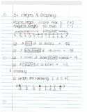 Integers and Coordinate Plane notes by section