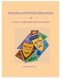 Integers and Integer Operations Readers Theatre Script