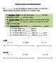 Integers and Rational Number Guided Notes and Practice