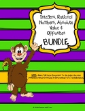 Integers and Rational Numbers BUNDLE - DOWNLOAD INCLUDES 1