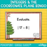 Integers and the Coordinate Plane Bingo Game