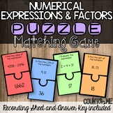 Integers and the Coordinate Plane Matching Game