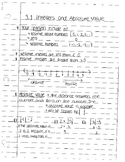 Integers notes by section
