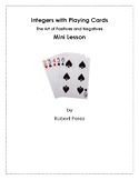 Integers with Playing Cards - The Art of Positives and Negatives