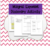 Integral Exponents Discovery Activity