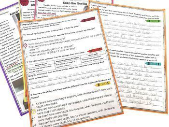 Integrate Information from Multiple Texts- 4th & 5th Grade RI.4.9-RI.5.9