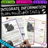 Integrate Information from Multiple Texts 4th Grade RI.4.9 & 5th Grade RI.5.9