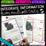Integrate Information from Multiple Texts- 4th & 5th Grade
