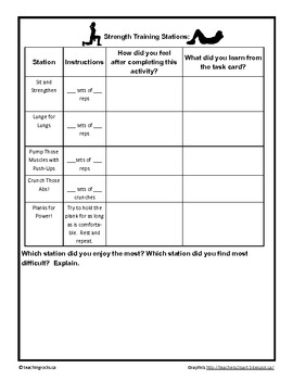 Integrate Science and Phys Ed with The Human Body Fitness Circuit!