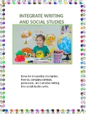 Integrate Writing and Social Studies