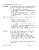 Integrated Algebra Menus Project