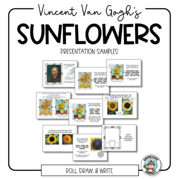 Art Project: Integrated Art Lesson: Van Gogh's Sunflowers