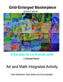 Integrated Art-Math Grid Enlargement Masterpiece Project