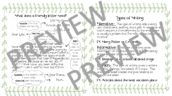 Integrated Daily Writing Choice Boards - Entire Year