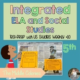 Integrated ELA FSA Practice with Social Studies; Middle Colonies