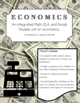 Integrated Economics Unit - Math, ELA, Social Studies