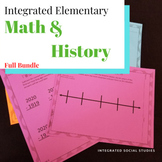 Integrated Elementary Math & History Bundle
